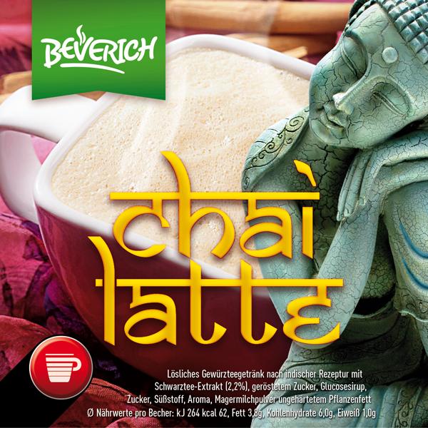 InCup mit: Chai Latte