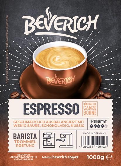 8 kg Espresso - Beverich Premium