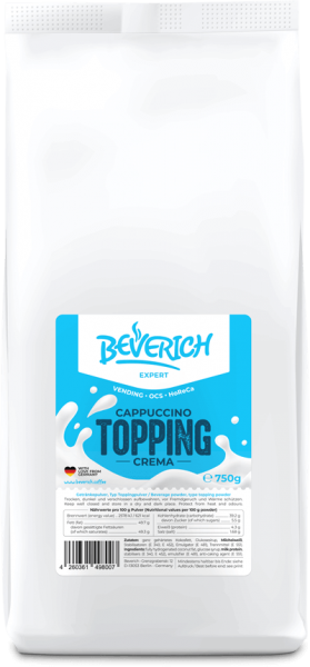 Cappuccino Topping (750g)
