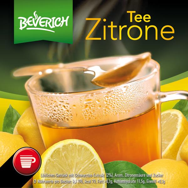 InCup mit: Zitronentee
