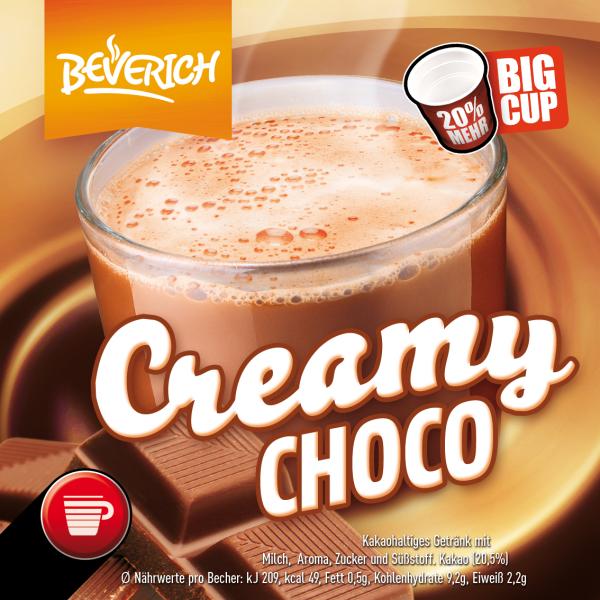 BigCup mit: Creamy Choco